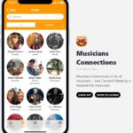 Musicians Connections App